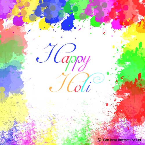 Colourful Holi Wishes
